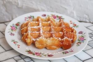 Belgian Waffle - delivery menu