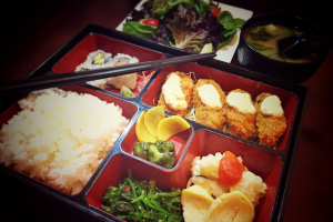 Deep Fried Oyster Bento Box - delivery menu