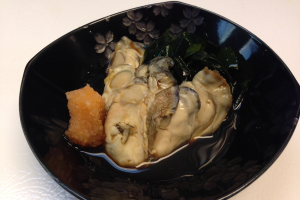 Oyster with ponzu sauce (Import from Japan) - delivery menu