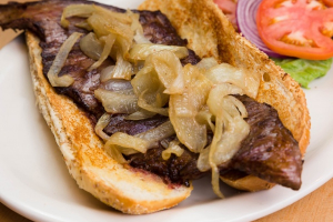 Roumanian Steak Sandwich - delivery menu