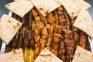 Kofte Shish Kebab Platter - delivery menu