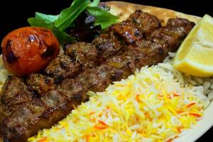 12. 1 Lamb Shish and 1 Lamb Kubideh - delivery menu