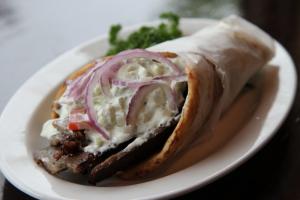 Beef Gyro Sandwich - delivery menu