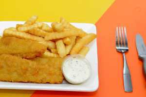 8 fish & chips - delivery menu