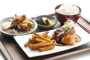 Salmon Teriyaki Set Lunch - delivery menu