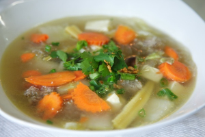 35. Gang Jerd Woon-Sen Soup - delivery menu