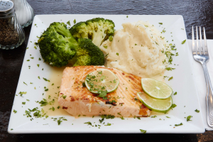 Grilled Salmon - delivery menu