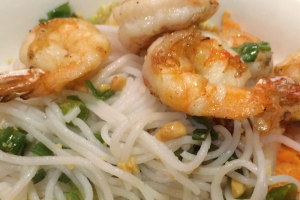 48. Grilled Shrimp with Angel Hair - delivery menu