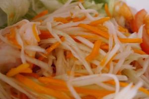 24. Papaya Salad - delivery menu