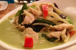 Yellow Curry a la Carte - delivery menu