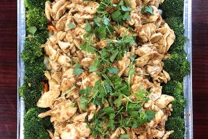 Garlic Pepper Tray - delivery menu