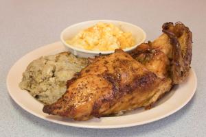 Baked Chicken Platter - delivery menu