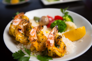 GRILLED SHRIMP - delivery menu
