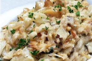Bacalhau com Natas - delivery menu