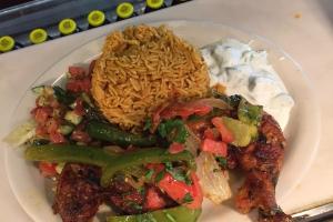 Chicken Mendi Plate - delivery menu