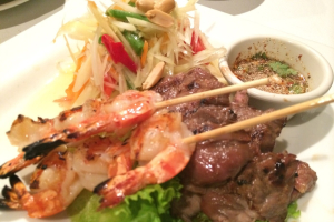 Thai Style Surf and Turf - delivery menu