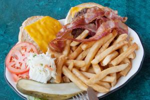 Bacon Cheeseburger Deluxe - delivery menu