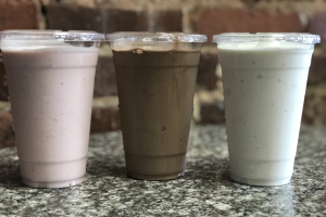 Milkshake - delivery menu