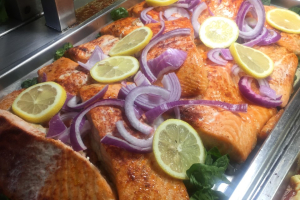 1 lb. Baked Salmon - delivery menu