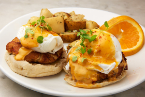 Crab Cake Benedict - delivery menu