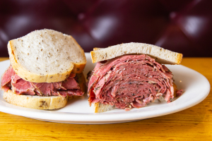 Hot Pastrami Sandwich - delivery menu