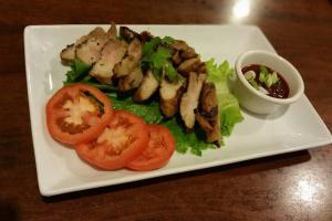 Grilled Pork Neck - delivery menu