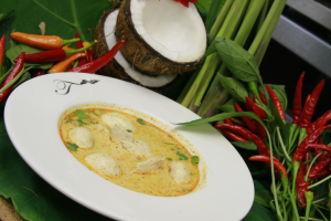 Tom Kha Gai Soup - delivery menu