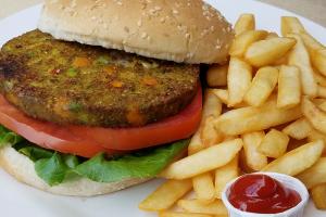 California Veggie Patty & Side - delivery menu