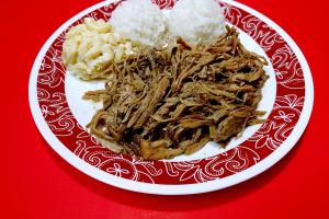 65. Kalua Pork Lnch Plate - delivery menu