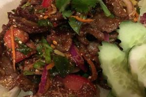 Y5. Grilled Beef Salad - delivery menu