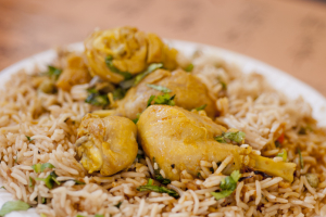 13. Curry Chicken - delivery menu