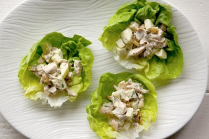 Walnut and Raisin Chicken Salad - delivery menu