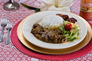 Curry Goat Lunch - delivery menu