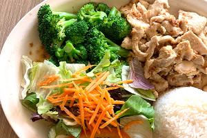 Garlic Lunch Special - delivery menu