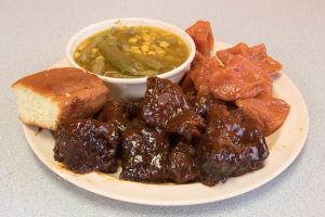 BBQ Rib Tips Platter - delivery menu