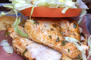 Grilled Chicken Breast Sandwich Brunch - delivery menu