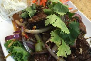 B8. Tiger Cry Salad - delivery menu