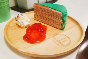 X'Mas Crepe Cake (only until Jan 3rd) - delivery menu