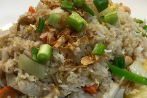 F6. Pineapple Fried Rice - delivery menu