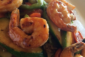 Shrimp Teriyaki Bowl - delivery menu