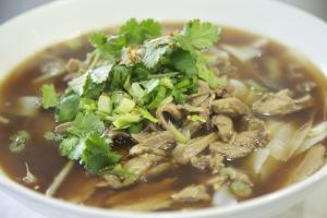 87. 5 Spices Duck Noodle Soup - delivery menu