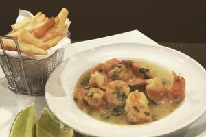 Camarones al Ajillo - delivery menu