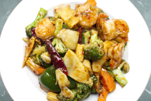 Diet Jumbo Shrimp with Mixed Vegetables - delivery menu