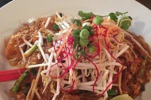 Lunch Glass Noodle Pad Thai Noodles - delivery menu