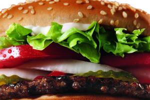 1. Hamburger - delivery menu