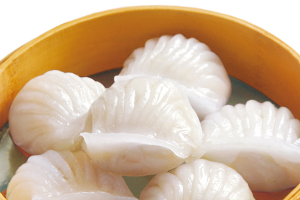 *D12*: Steamed Shrimp Dumpling (Har Gau) (6 Pics.) - delivery menu