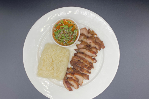 Sticky Rice with Roasted Pork - delivery menu