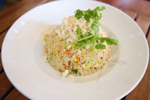 Crab Meat Fried Rice Dinner - delivery menu
