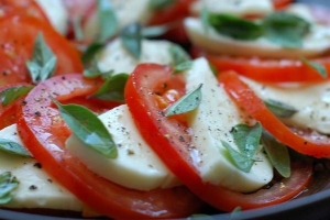 Mozzarella and Tomato - delivery menu