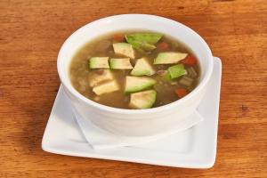 Lentil Avocado Soup - delivery menu